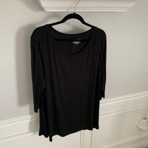 Lane Bryant Black Tunic: Size 18/20